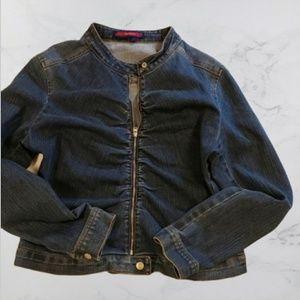 BCBG Maxazria Jeans- Jean Jacket
